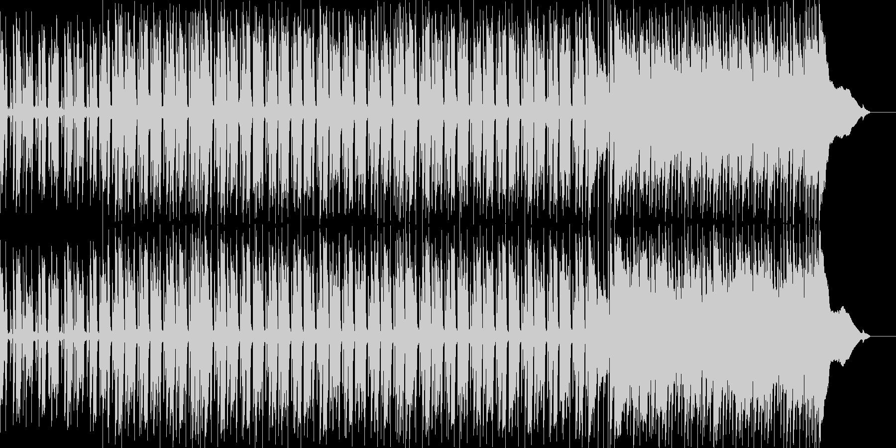 爽やかでほのぼのとしたギターポップスの未再生の波形