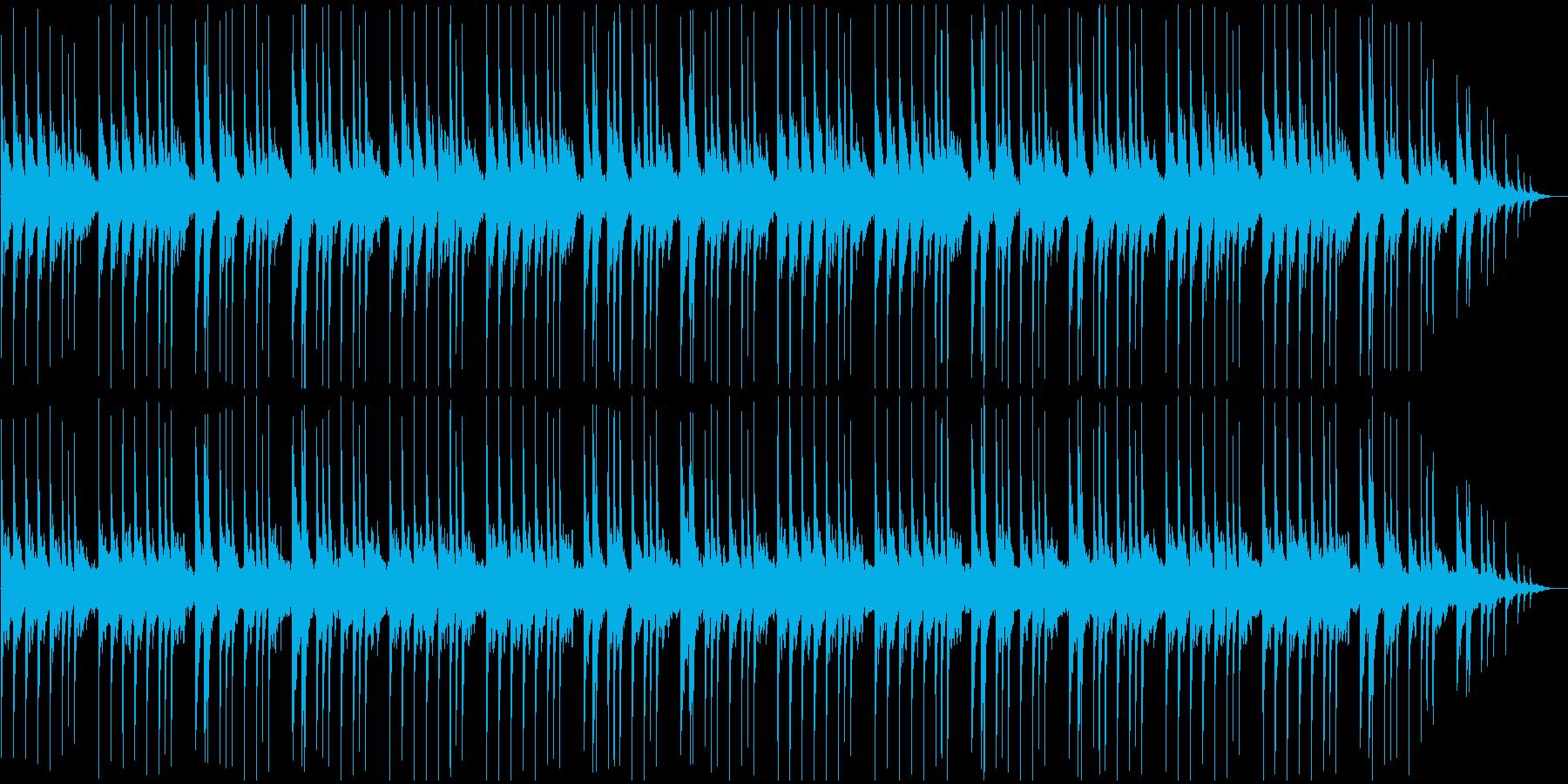 哀愁漂う和風BGMの再生済みの波形