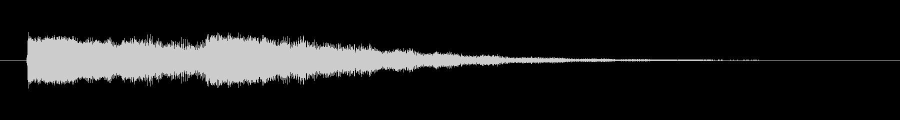 【起動音的な2】の未再生の波形