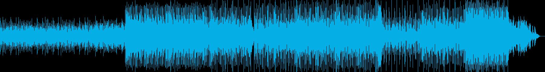 テンションビルダー、クライマックス...の再生済みの波形