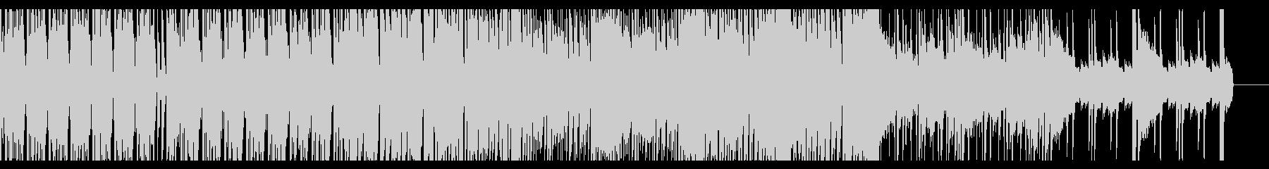浮遊感のあるエレクトロの未再生の波形