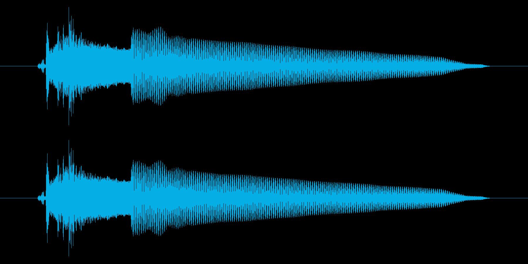 改札 アラーム01-2(音色2 フラップの再生済みの波形
