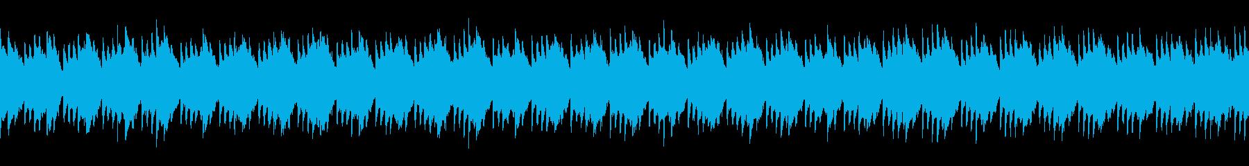(loop)ピアノが印象的なループBGMの再生済みの波形
