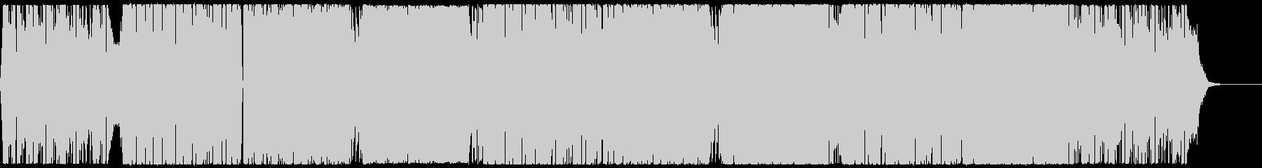 軽快で晴れやかなEDMハウス CM・映像の未再生の波形