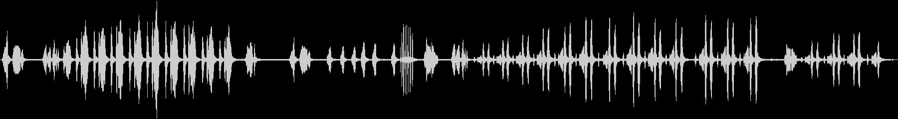 キビタキのさえずりの未再生の波形