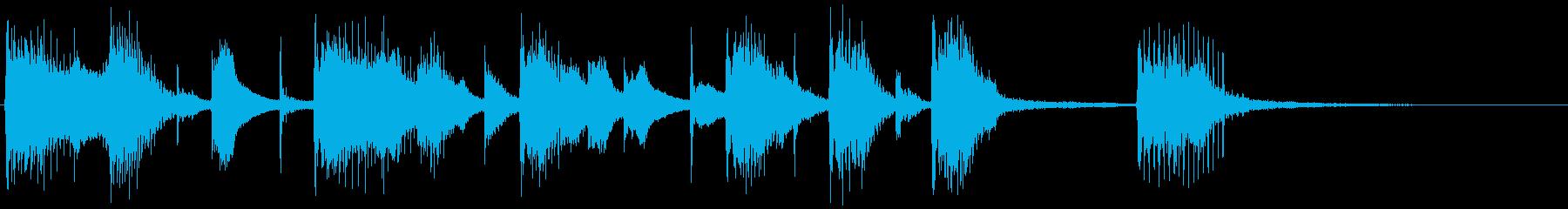 サーカスセグ4の再生済みの波形