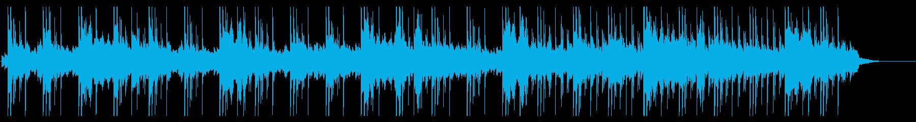ダンジョン向けゲームミュージック17の再生済みの波形
