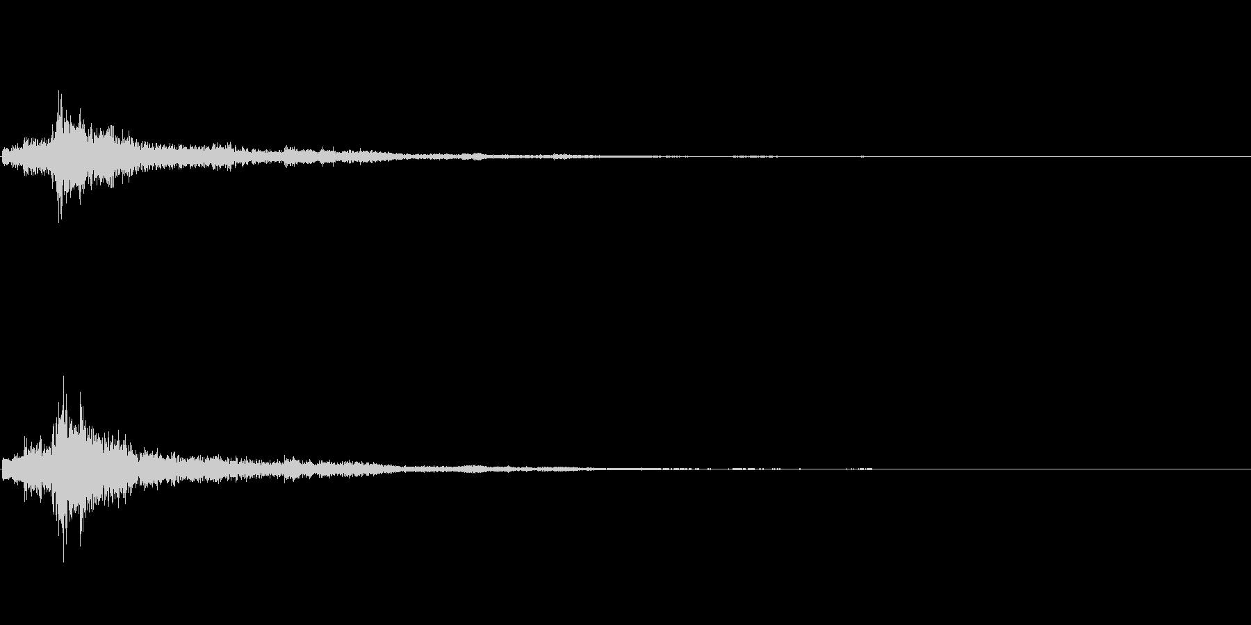 シャン(クリスマス・鈴の音)の未再生の波形