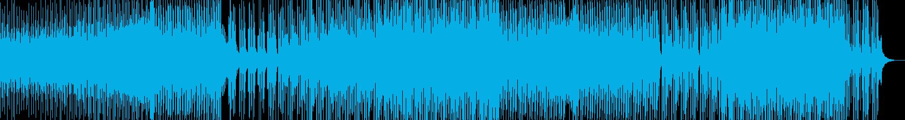 軽快なテンポのアラビアン風ポップスの再生済みの波形