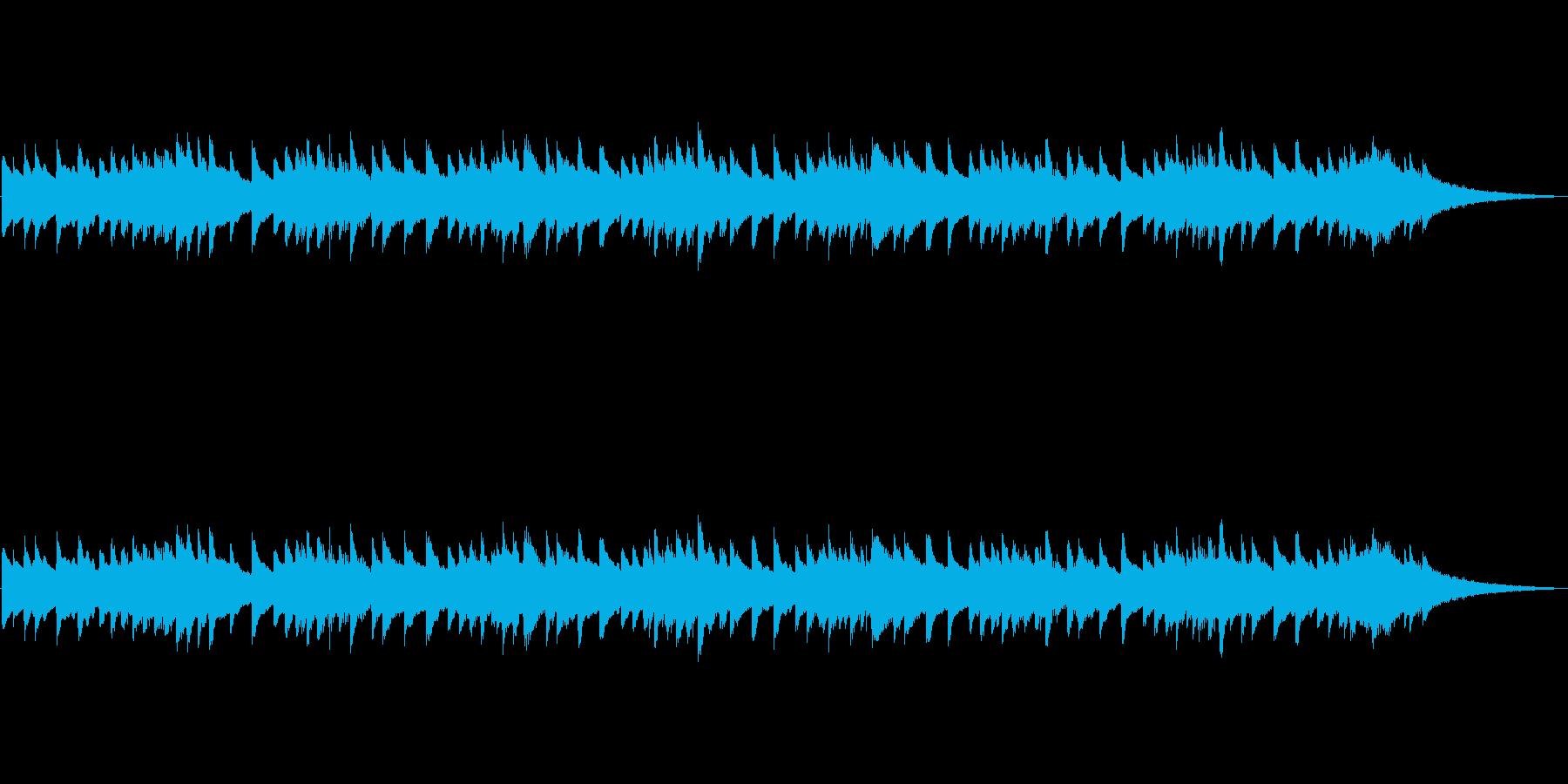 アラーム音-1 30秒の再生済みの波形