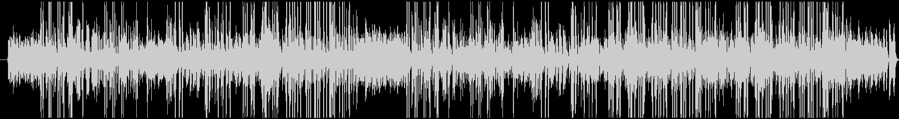 トランペットの音が印象的な愉快な曲調の未再生の波形