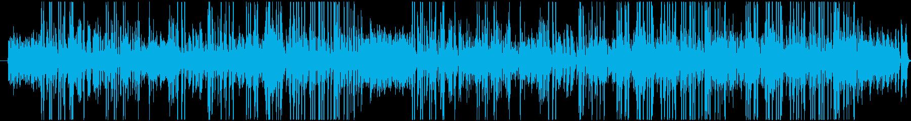 トランペットの音が印象的な愉快な曲調の再生済みの波形