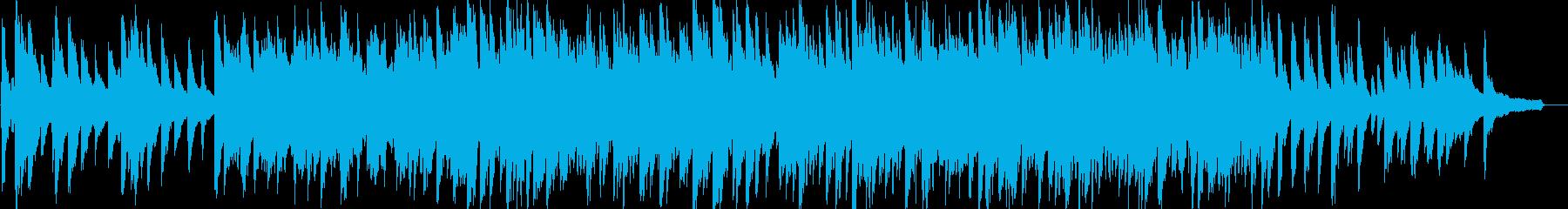 感動・達成・ピアノソロ・イベント・映像の再生済みの波形