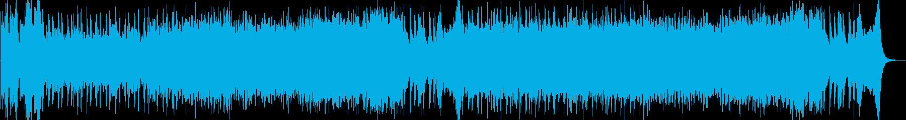 【ゲームBGM】SF鉄感のあるバトル曲1の再生済みの波形