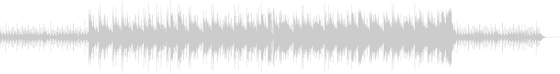 ダークなHIPHOPの未再生の波形