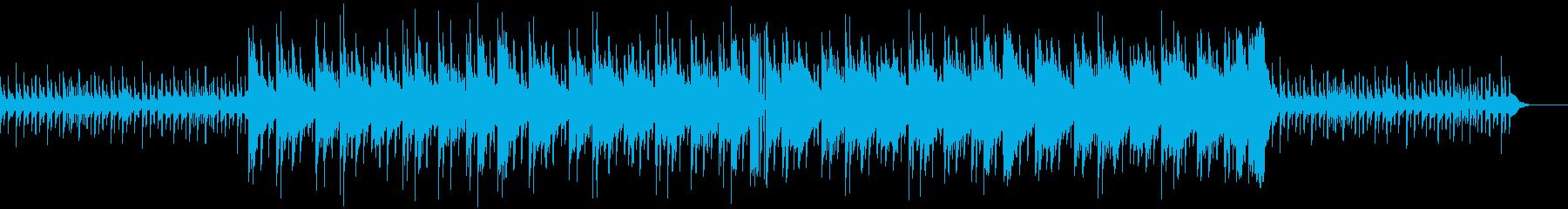 ダークなHIPHOPの再生済みの波形