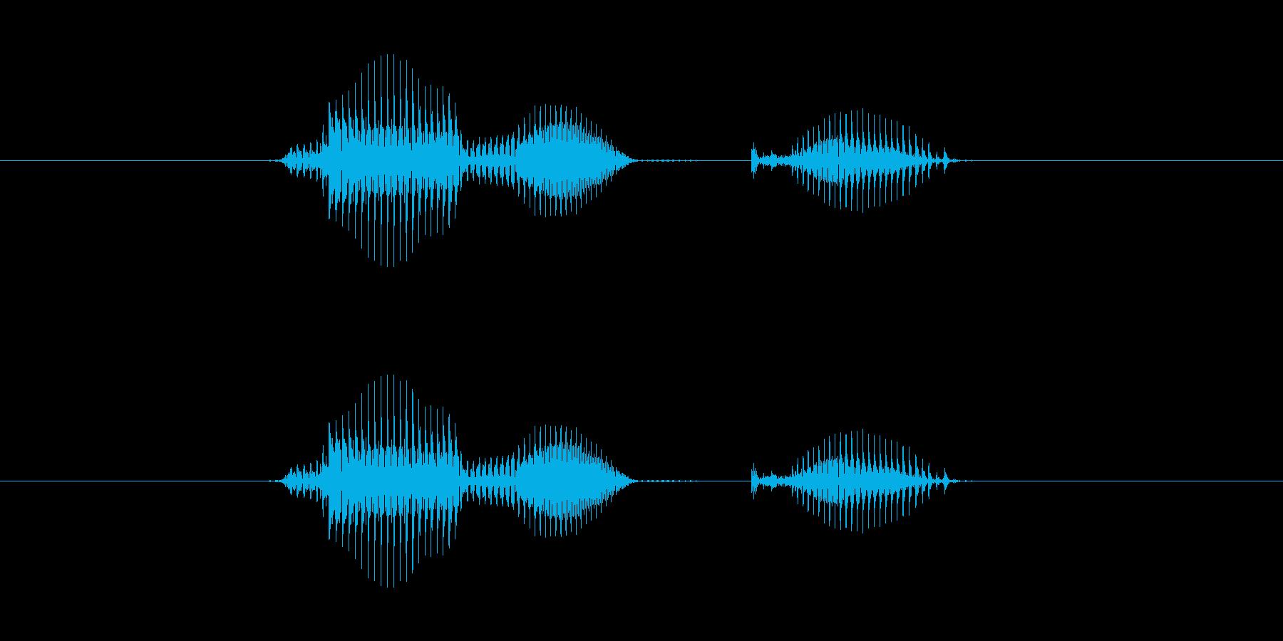 【日】7日の再生済みの波形