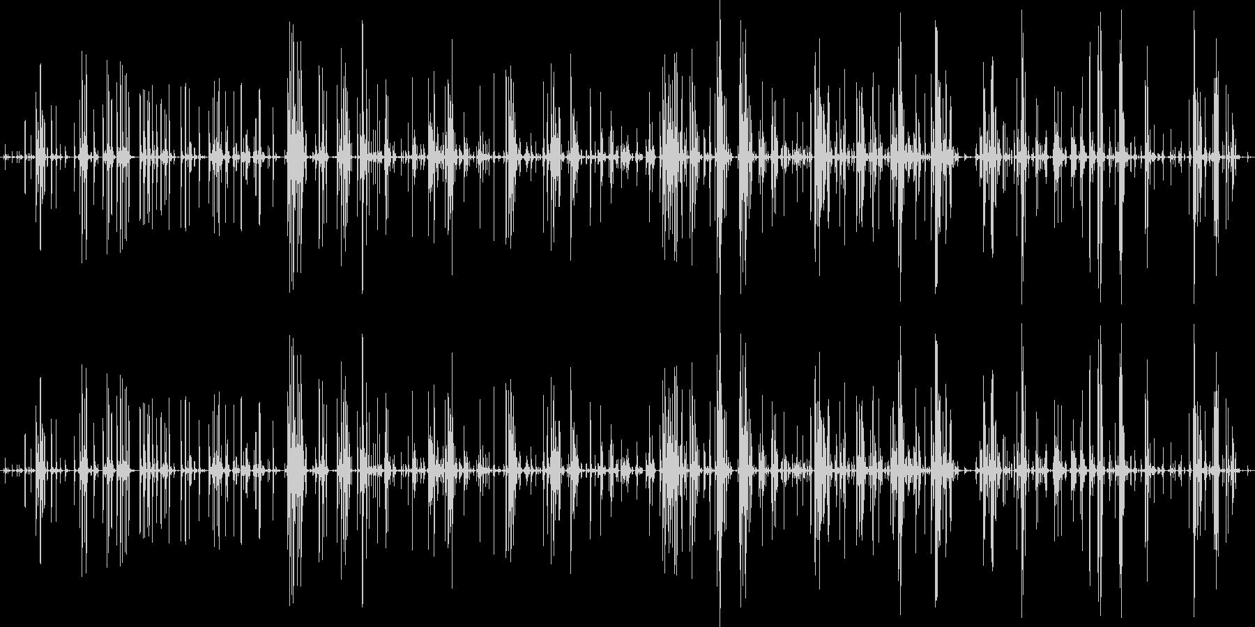 家庭 カップガラガラミディアム01の未再生の波形