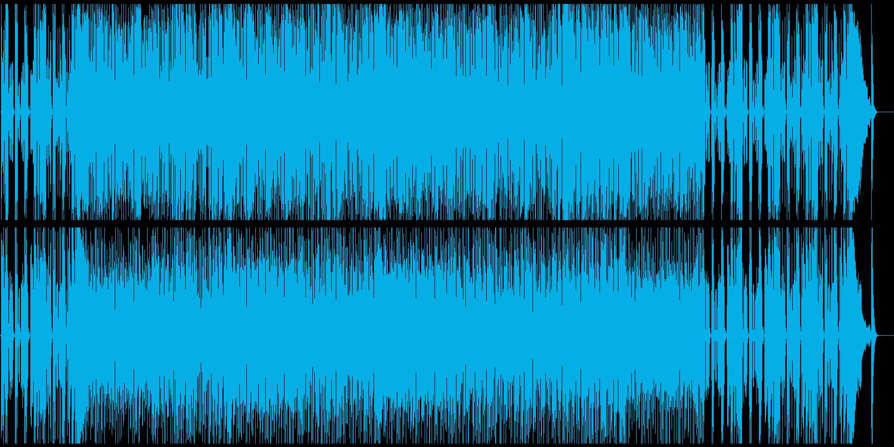 温故知新☆70sを感じさせるロックBGMの再生済みの波形