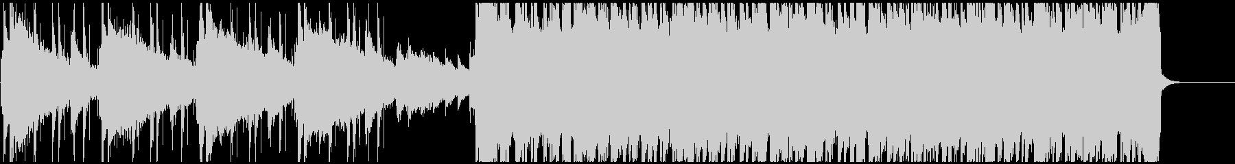 シンプルな骨太ロックの未再生の波形