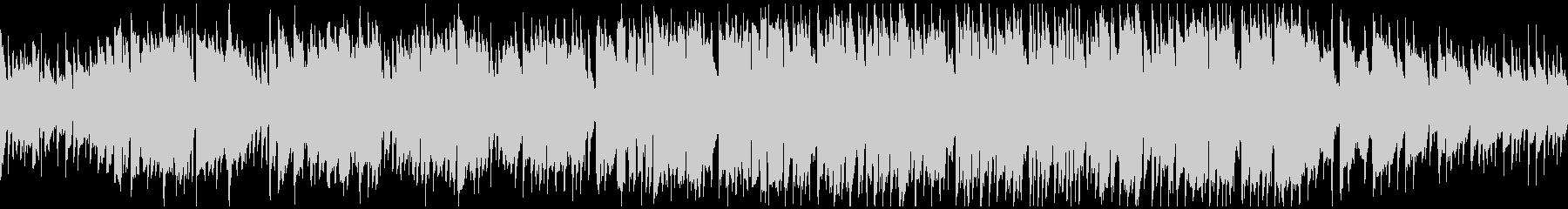 クラリネット生演奏のポップス ※ループ版の未再生の波形