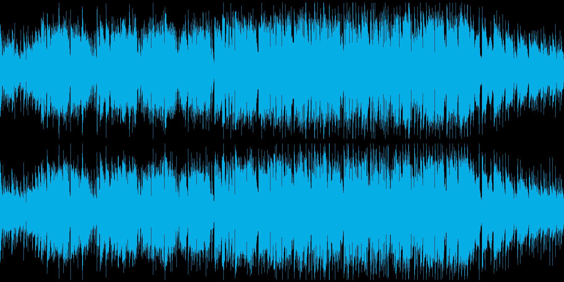 クラリネット生演奏のポップス ※ループ版の再生済みの波形