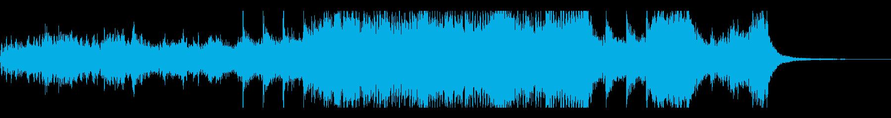 電気音響シンフォニー 前衛交響曲 ...の再生済みの波形
