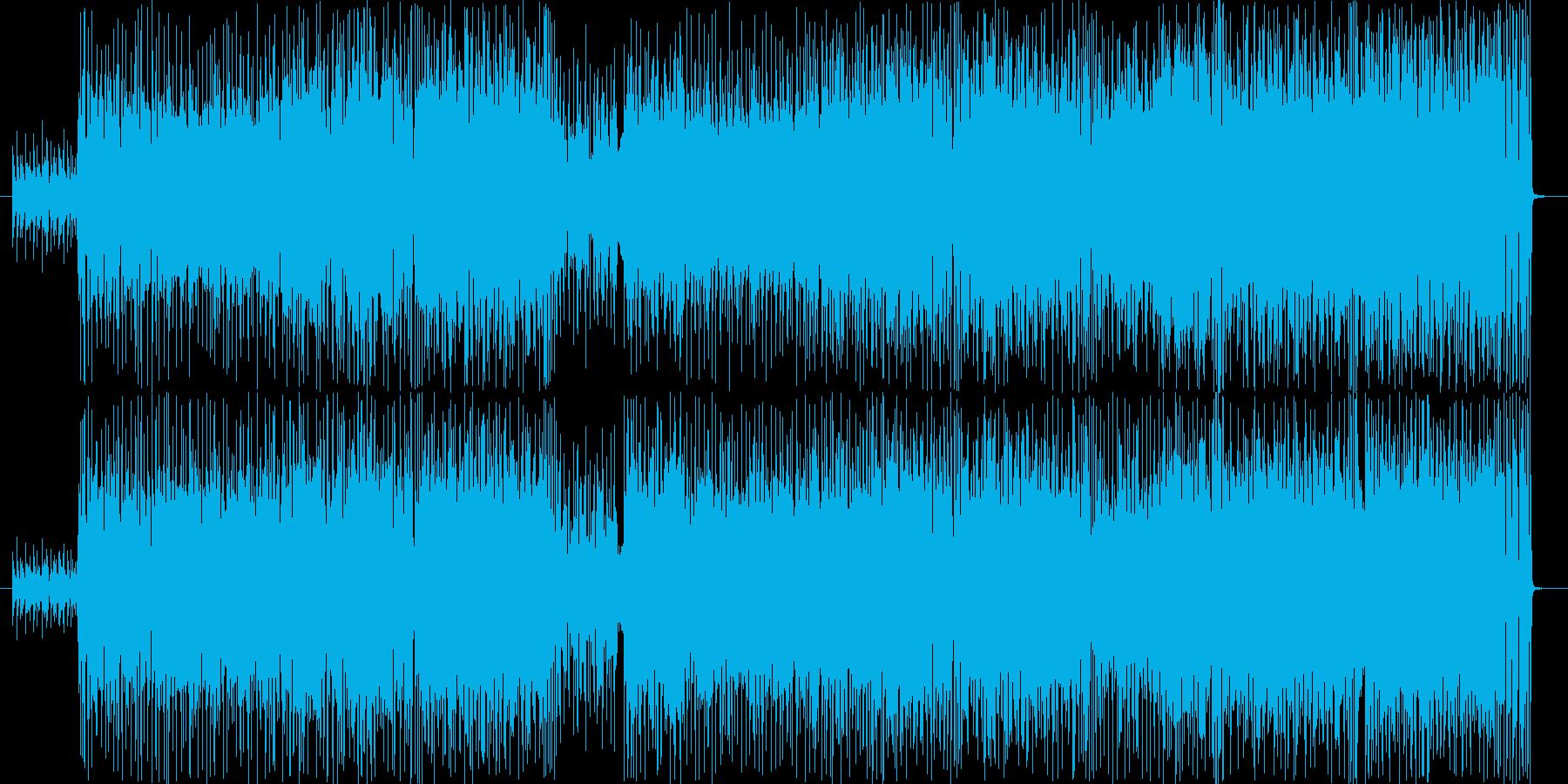 8ビートの爽やか系ピアノ・インスト。の再生済みの波形
