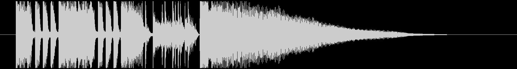 キレの良いファンクなジングル・BGMの未再生の波形