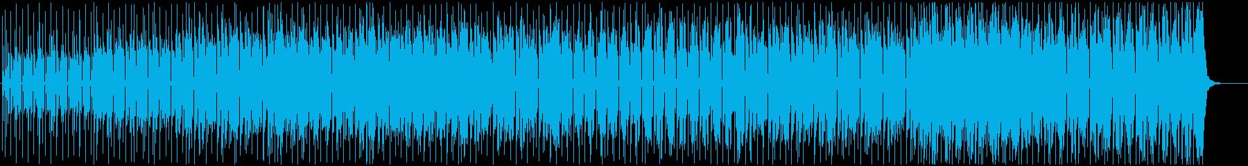 憂いのある雰囲気のファンキーなポップスの再生済みの波形