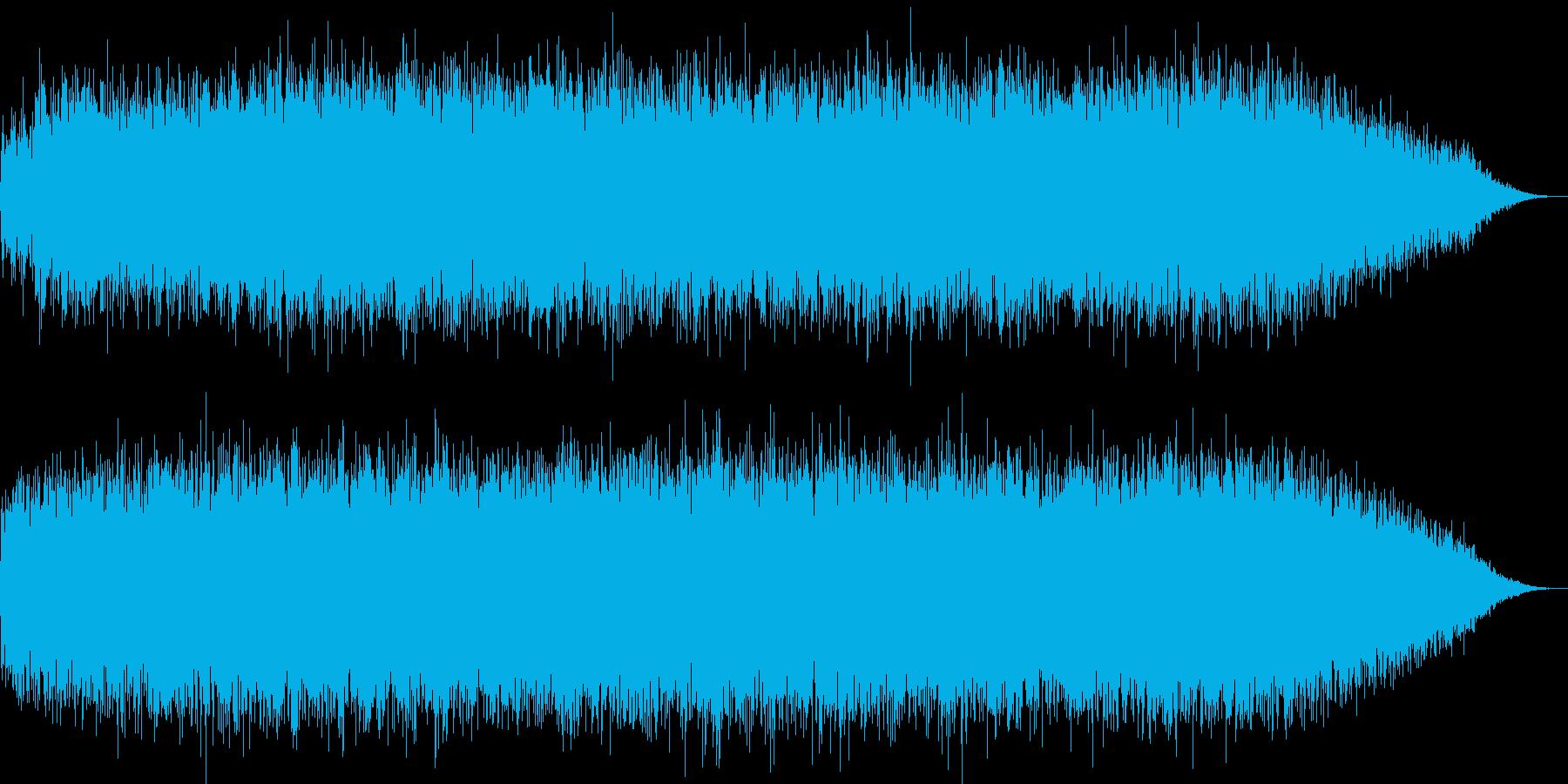 アンダーグラウンドイメージ環境音の再生済みの波形