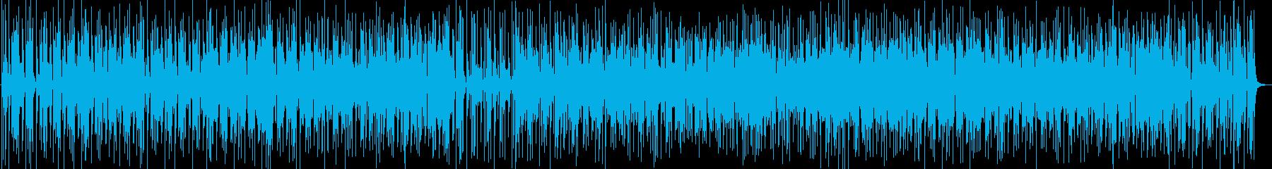 ファンキーなレトロサウンドの再生済みの波形