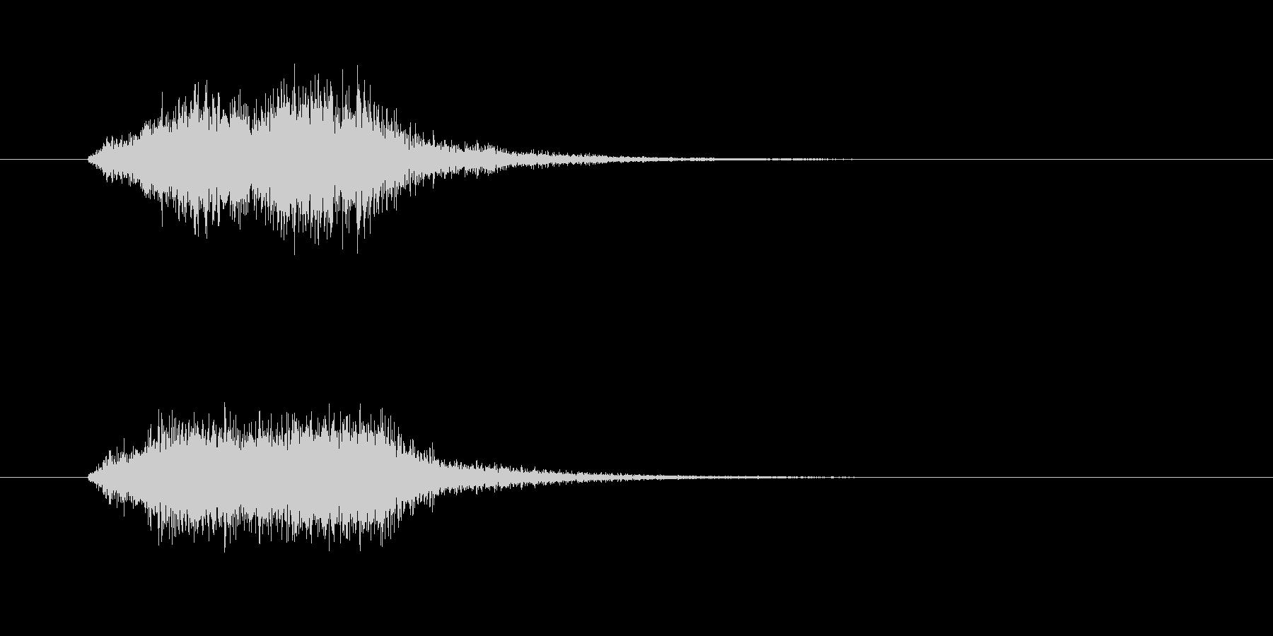 ボイス(宇宙人、エイリアン、未確認生物)の未再生の波形