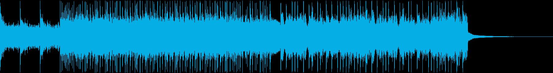 勢いとノリ重視のスラッシュリフジングルの再生済みの波形