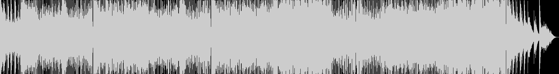 ブラジル風サンバポップの未再生の波形