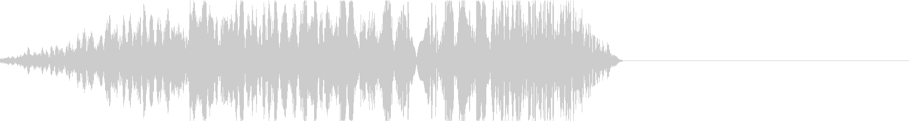 DJプレイ スクラッチ・ノイズ 191の未再生の波形