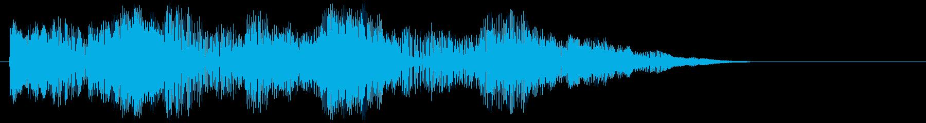 【クイズ】テンションがあがる正解音ですの再生済みの波形