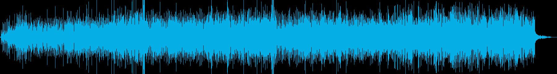 ソーシャル解説付きのヒップホップト...の再生済みの波形