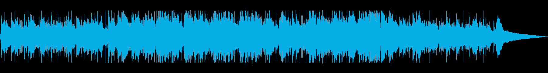 爽やかなメロディーのイージーリスニングの再生済みの波形