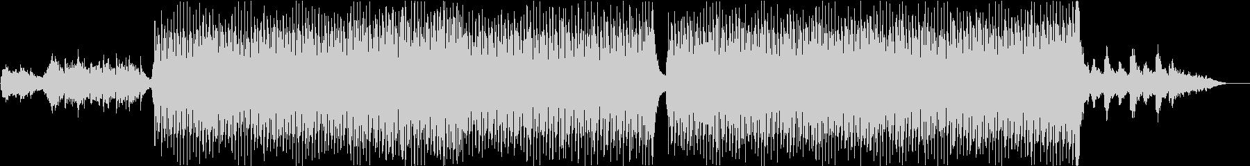 ドキュメンタリー系BGMの未再生の波形