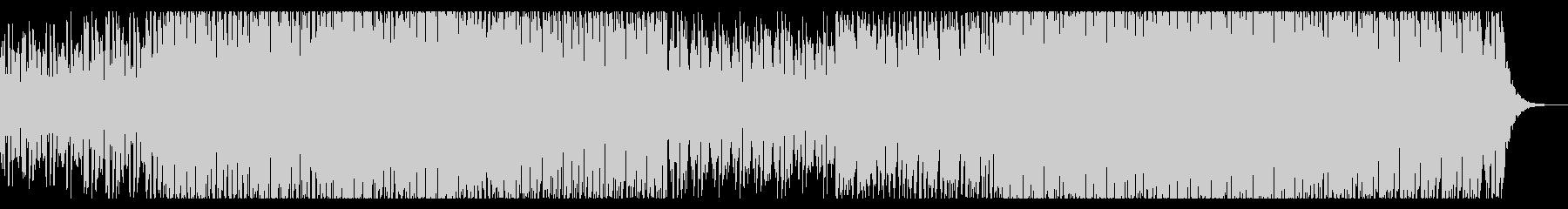 夏のトロピカルポップの未再生の波形