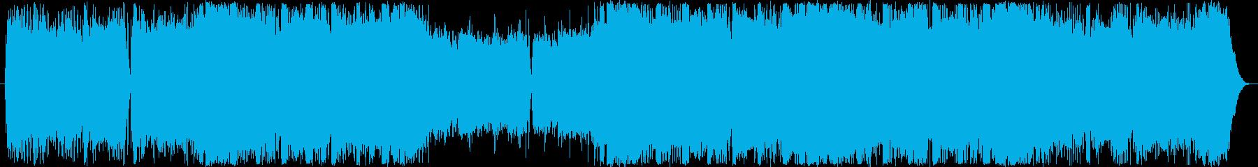 CM・おしゃれな洋楽フューチャーベースの再生済みの波形