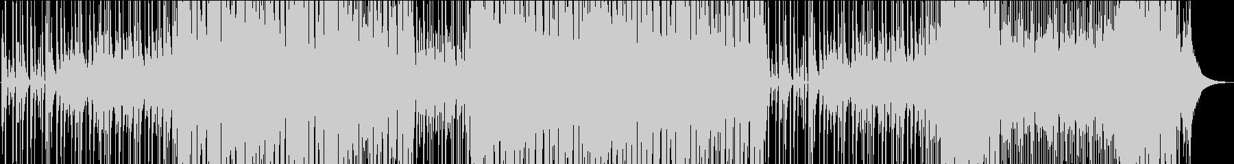 ウクレレ・アコギのほのぼのカントリーの未再生の波形