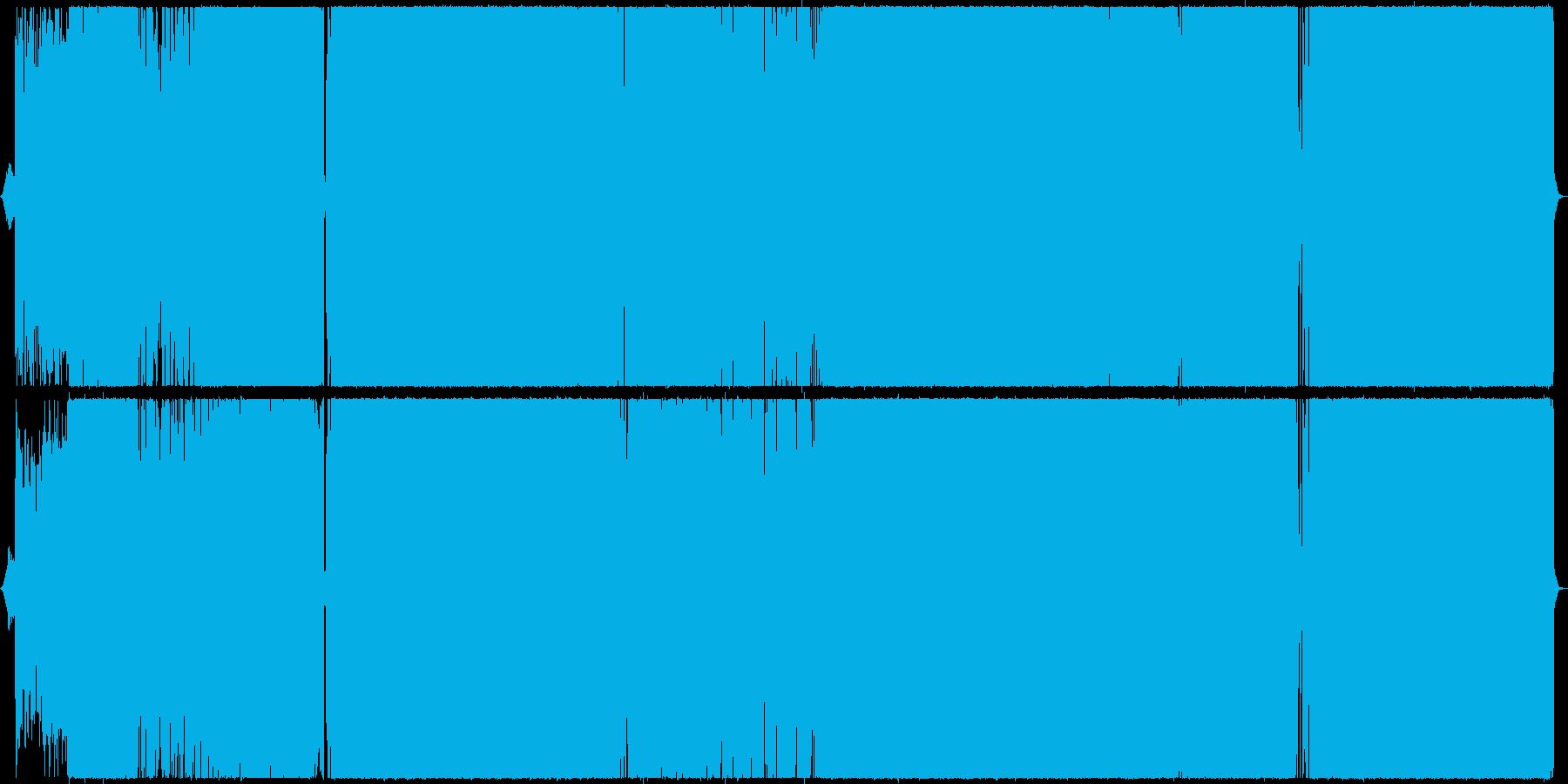 クールかつ叙情的なラウドロックの再生済みの波形