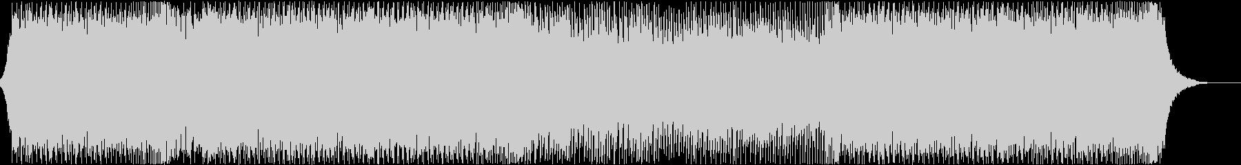 盛り上がる・エレクトロ・クラブ・DJの未再生の波形