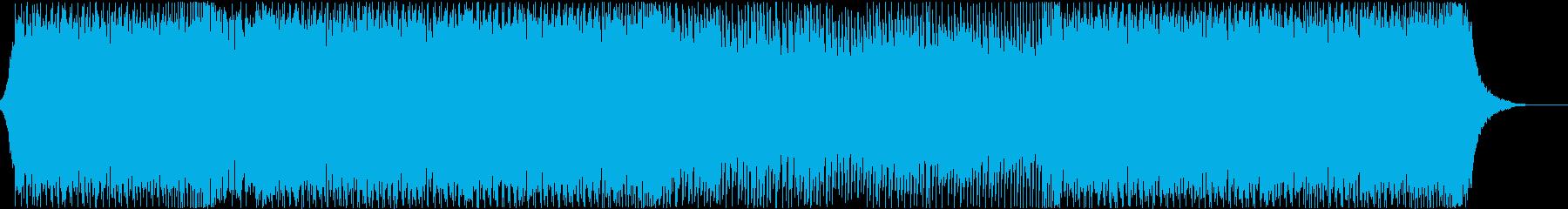 盛り上がる・エレクトロ・クラブ・DJの再生済みの波形