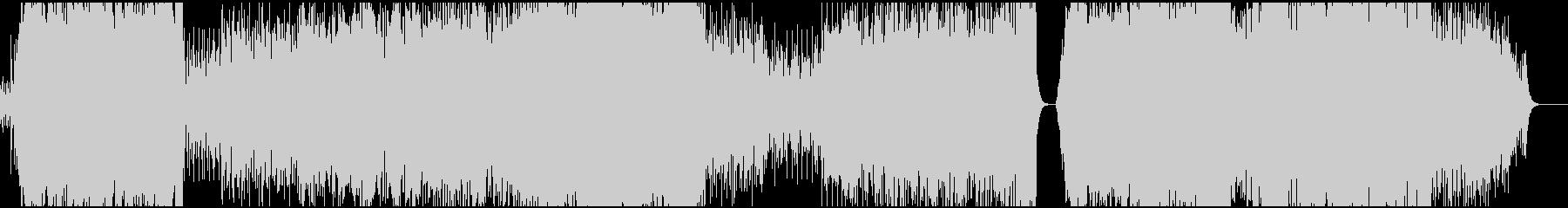 スケール感のあるEDMの未再生の波形