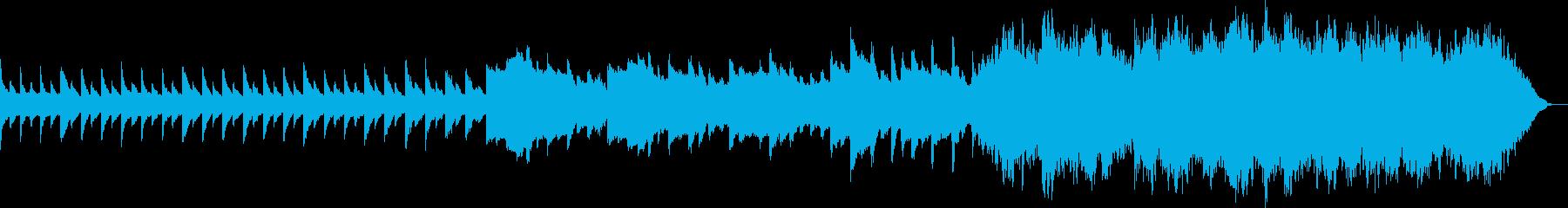 切ない系(ストリングス)の再生済みの波形