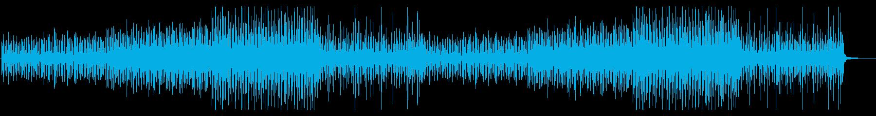 ハプニング慌ただしい ドタバタ コミカルの再生済みの波形