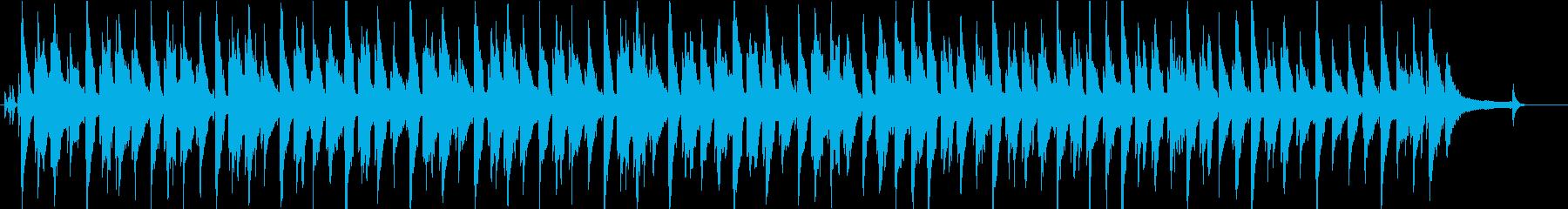 猫の日常をイメージしたほのぼのBGMの再生済みの波形